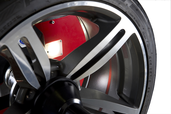 Snap-on balanceermachine Rim_Lighting