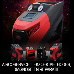 Automotive aircoservice, lekzoek-methodes, diagnose én reparatie Snap-on Tools