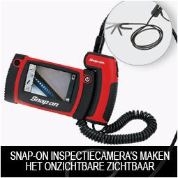 Snap-on inspectiecamera's maken het onzichtbare zichtbaar