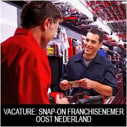 Vacature Snap-on franchisenemer Oost Nederland kopie