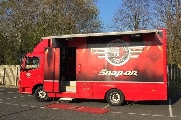 Snap-on Tools Rock & Roll Cab Express