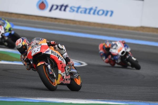 Hattrick voor Honda MotoGP coureur Marc Marquez in Thailand Snap-on Tools