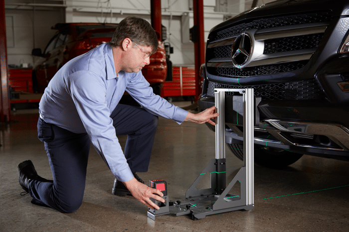 Snap-on ADAS kalibratie equipment