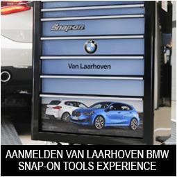 Aanmelden Van Laarhoven BMW Snap-on Tools Experience