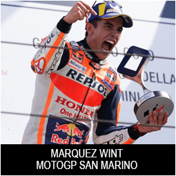 Marquez wint MotoGP San Marino Snap-on Tools