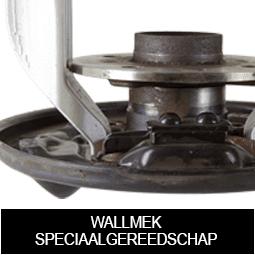 Wallmek demontagegereedschap voor gesloten wiellagers/naven op niet-vlakke ankerplaten