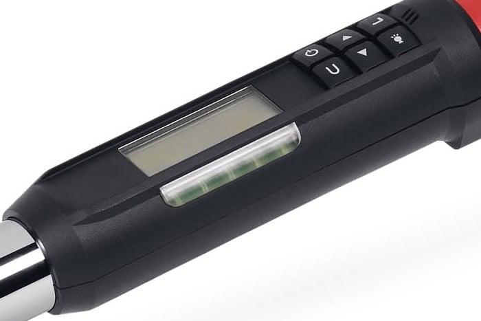 Snap-on ATECH2F125 elektronische momentsleutel met flexibele ratelkop