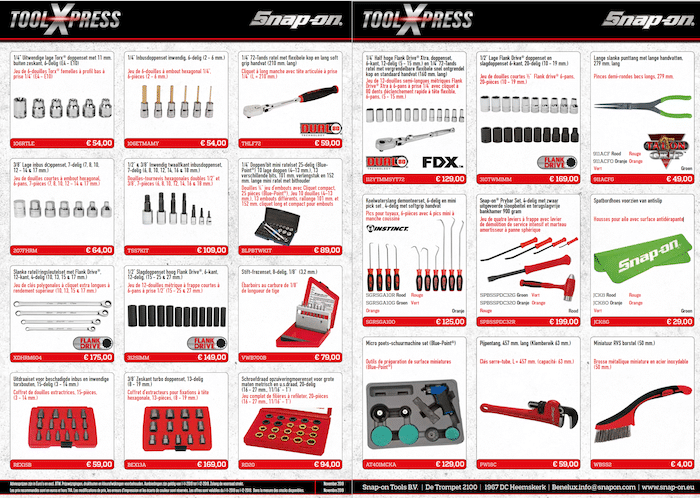 Snap-on ToolXpress november 2019