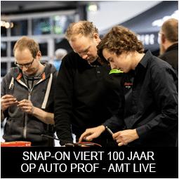Snap-on Tools viert 100 jaar tijdens Auto prof - AMT Live en AutoTechnica 2020