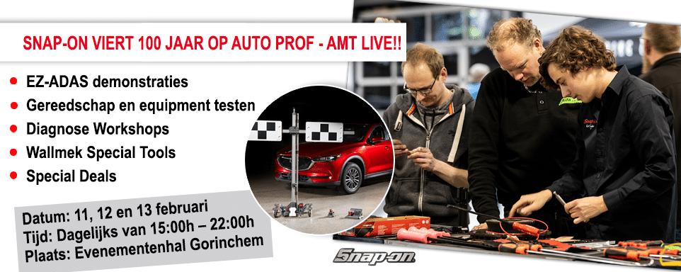 Auto Prof - AMT Live Snap-on Tools 100 jaar 2020