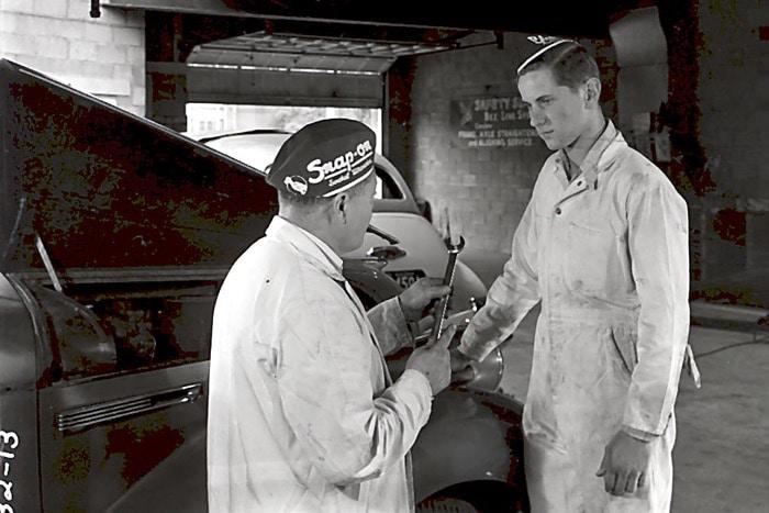 Snap-on 100 jaar garage