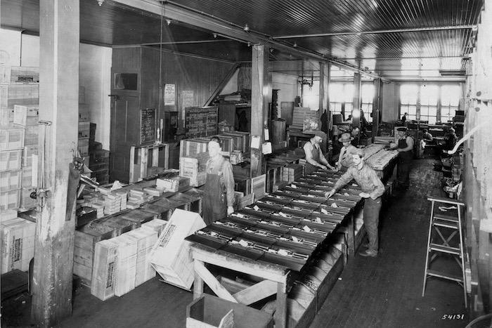 Snap-on fabriek 1930