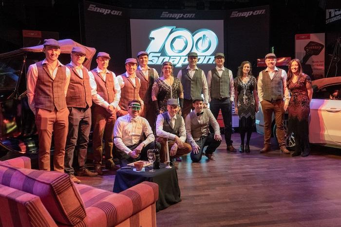 Team Snap-on Benelux 100 jaar