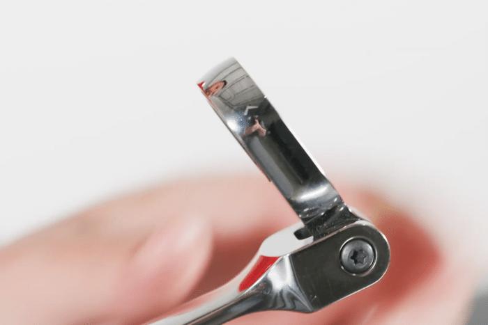 Snap-on Tools XFRM705 ratelringsleutel flexibele kop kopie