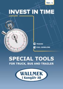 Wallmek speciaalgereedschap voor truck, bus en trailer