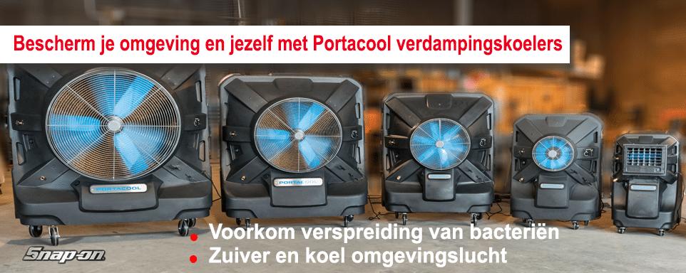 Bescherm je omgeving en jezelf met Portacool verdampingskoelers Snap-on Tools