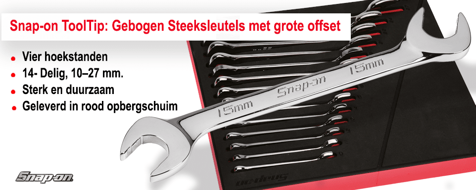 Snap-on Tools gebogen steeksleutel webslider