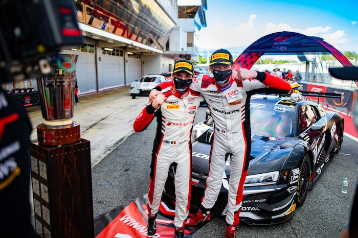 Belgian Audi Club Team WRT kampioen GT World Challenge Europa