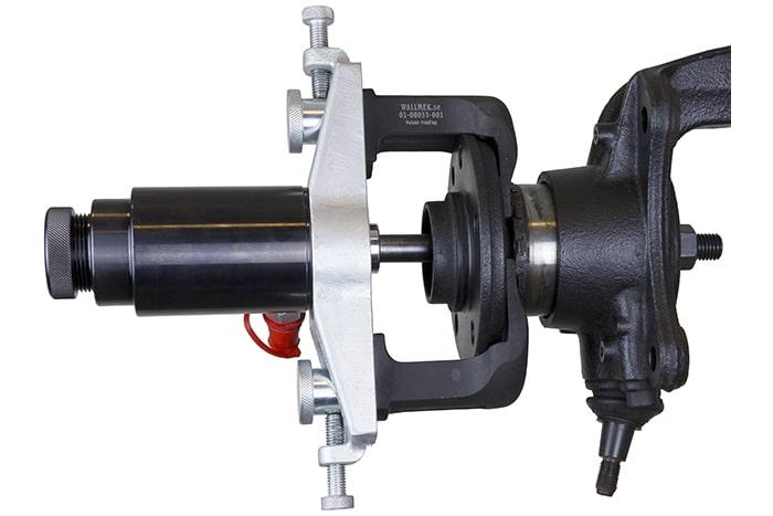 Snel en eenvoudig compacte wiellagers vervangen zonder ze te beschadigen met Wallmek speciaal gereedschap Wallmek W0100033 Snap-on Tools