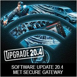 Snap-on voertuigdiagnose Software Update 20.4 met Secure Gateway vp