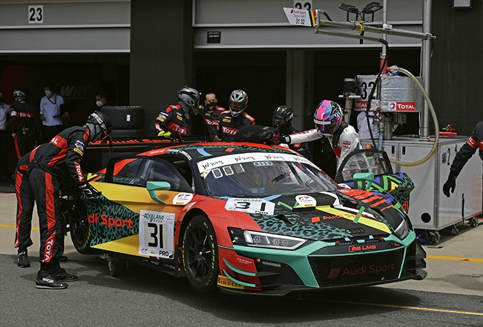 Audi Team WRT sluit fantastisch seizoen af met podium Kyalami 9 Hours