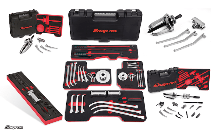 Multifunctionele universele Snap-on trekkersets