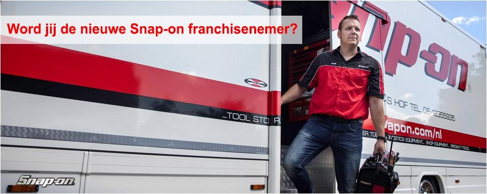 Word jij de nieuwe Snap-on franchisenemer