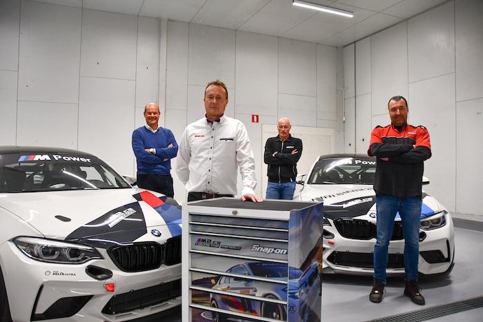 Samenwerking BMW M2 CS Racing Cup Benelux en Snap-on Tools