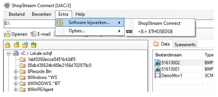 Controleer op software updates
