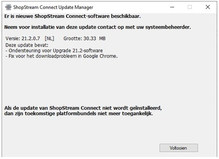 Indien de software erom vraagt moet je SSC opstarten in Admin modus