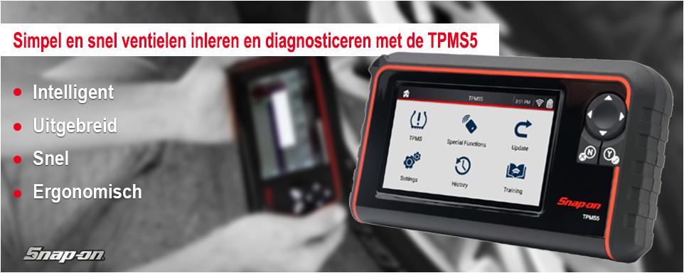 Snap-on TPMS5 slider banner