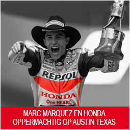 Marc Marquez oppermachtig tijdens Red Bull Grand Prix of the Americas